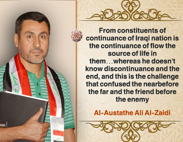 From constituents continuance Iraqi nation