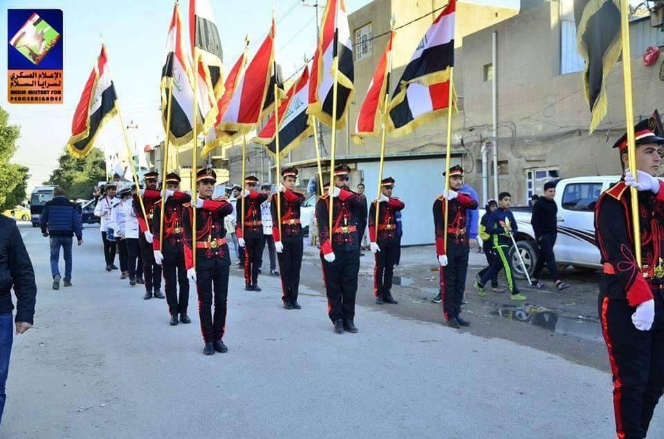 سرايا السلام بغداد الرصافة تُحيي ذكرى الشهيد