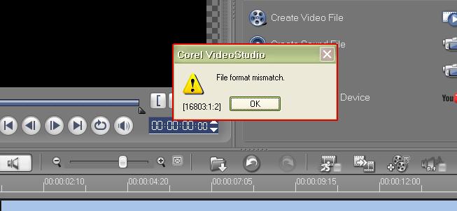 مشكلتي في برنامج فيديو استديو 12