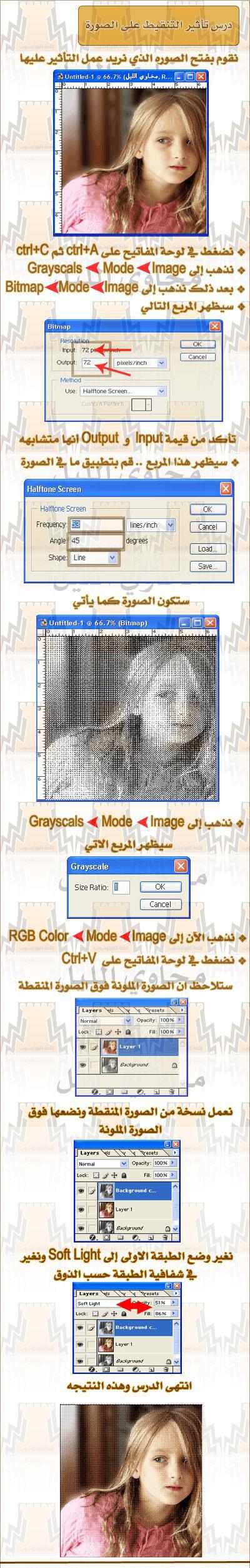 درســ يضيف لمسة جميلة للصور..!