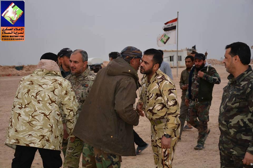 مدير الحركات العسكرية لسرايا السلام يتفقد قاطع